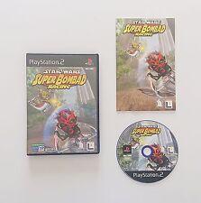 Game / Juego Star Wars Super Bombad Racing Sony Playstation 2 (Esp) (PS2)