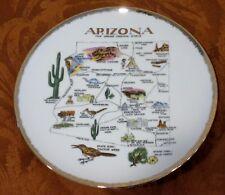 """Arizona Souvenir Plate: 8"""""""