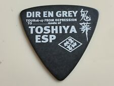 Guitar Pick Toshiya Model ESP TOUR 16-17 FROM DEPRESSION TO mode of DIR EN GREY