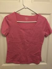Lilly Pulitzer Top Pink 100% Cotton Size Small