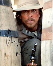 CHRISTIAN BALE signed autographed 3:10 TO YUMA DAN EVANS photo