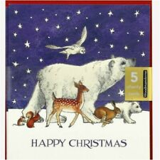 Emma Bridgewater Winter Animals Pack of 5 Charity Christmas Cards