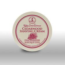Taylor of Old Bond Street Cedarwood Shaving Cream 150g
