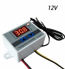 DC12V Digital LCD Liquids Temperature Controller Thermostat with Probe for Water