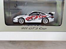 MINICHAMPS 1/43 PORSCHE 911 GT3 CUP (2007) (OFFICIAL PORSCHE BOX)