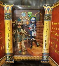 SDCC Monster High Dolls Ghoulia Yelps, Cleo De Nile 2017 NIB NRFB