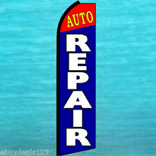 AUTO REPAIR SWOOPER FLAG Tall Flutter Feather Vertical Advertising Banner Sign
