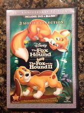The Fox and the Hound/Fox and the Hound II (Blu-ray/DVD,2011,3-Disc)Authentic US
