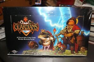 Guardians CCG card game revised booster NEW FULL BOX 36 packs 1995 Sealed
