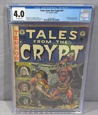 TALES FROM THE CRYPT #31 (Al Williamson 1st Art) CGC 4.0 EC 1952 Pre-Code Horror