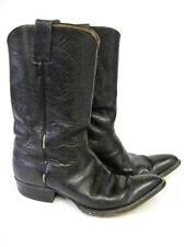 Vintage Justin Western Cowboy Boot men size 9.5 D Cloth tag