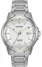 New Citizen AW1490-50A Eco Drive Men's Super Titanium Bracelet Watch