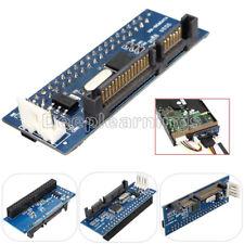 40Pin IDE Female To SATA 22Pin Male Adapter ATA To Serial SATA Card Converter DP