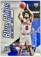 2019-20 Panini Prizm Mosaic Coby White Rookie Card RC Blue Chips Chicago Bulls🔥