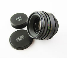 BIOTAR Carl Zeiss Jena Russian Copy SLR Lens M42 Excellent Black EXC HELIOS 44-2