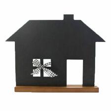 Schiefertafel - Kreidetafel - Tafel Haus ca 35x45 cm - Küchentafel Memoboard