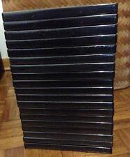 17 custodie scatole box nere vuote perfette per DVD film giochi PC XBOX