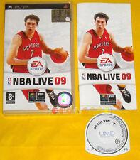 NBA LIVE 09 Psp Versione Ufficiale Italiana 1ª Edizione »»»»» COMPLETO