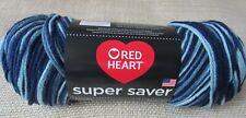 Red Heart Super Saver Yarn Shaded Dusk Acrylic 5 oz