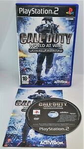 Call of Duty: World at War - Final Fronts for Sony PlayStation 2 PS2 PAL TESTED