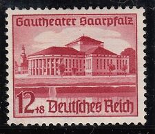 TIMBRE ALLEMAGNE  NEUF * CHARNIERE  N° 615 THEATRE A SARREBRUCK