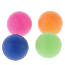 4er Set Bunt Tischtennisbälle Ohne Aufdruck 40mm Trainingsbälle Baby Kinder