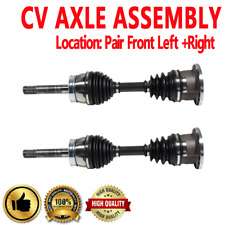 Front Pair CV Joint Axle Shaft for N D21 86-93 N PATHFINDER 87-89 4WD