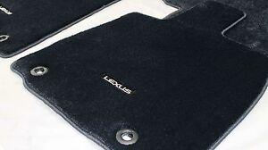 LEXUS FLOOR MATS CARPET SET BLACK RX SERIES MARCH 12 - SEPT 15 NEW GENUINE