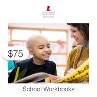 $75 Charitable Donation For: School Workbooks