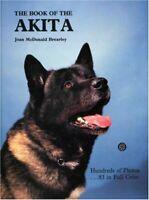 The Book of the Akita-Joan McDonald Brearley, 9780866220538