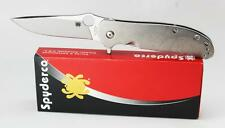 Spyderco Gayle Bradley Advocate Flipper Knife CPM-M4 Blade Titanium C214TIP