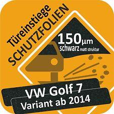 VW GOLF 7 VARIANT Film de protection la peinture PORTE PORTIÈRE Seuil