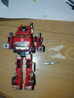 Transformers Takara Hasbro 1980 1982 G1 Inferno Fire Truck Firebot incomplete
