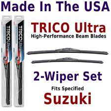 Buy American: TRICO Ultra 2-Wiper Blade Set fits listed Suzuki: 13-22-18
