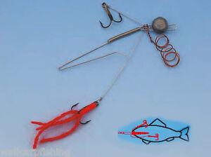 Behr Fishing Naturköder System Köderfisch System mit Bleikopf 8-12g