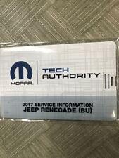 2019 Jeep RENEGADE Service Shop Repair Shop Workshop Manual on USB Factory