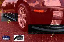 Paraurti tuning Opel Corsa D gomma protezione universale auto spoiler nero per