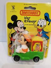 MATCHBOX 1979 WALT DISNEY Character Car WD-7-A3 Pinocchio's Theater Bister Pack