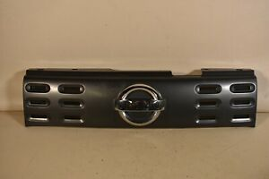 09-14 NISSAN CUBE FRONT GRILLE ASSEMBLY COVER INSERT MOLDING GRAY PLASTIC OEM