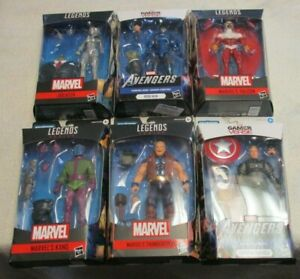 MARVEL LEGENDS JOE FIXIT WAVE IRON MAN FALCON KANG JOCASTA 6 ACTION FIGURE SET