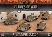 Flames of War NUOVO CON SCATOLA M3 Lee Serbatoio Platoon (Plastica) UBX50