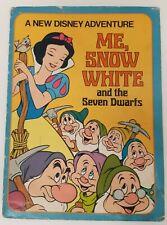 Me Snow White 7 Seven Dwarfs Disney Adventure Book Vtg Illustrated Personalized