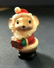 Hallmark Merry Miniatures 1986 Mini Santa Mouse