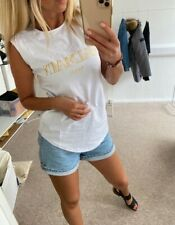 Balmain sleeveless vest white size S UK 6/8