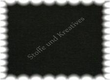 Bündchenstrick  Bündchen schwarz Hilco 25 cm