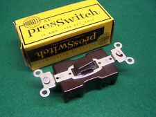 New Old Stock (NOS) HUBBELL AC PRESS SWITCH Unused in Original Box - NICE!