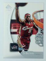 2005-06 Upper Deck SP Authentic Lebron James #14, Cleveland Cavaliers, Lakers