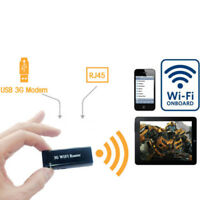 1tlg.Mini Portable 3G / 4G Wireless-N USB WiFi Hotspot Router AP 150 Mbps Wlan