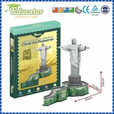 New Puzzle Souveni Christ the Redeemer (Brazil) 3D puzzle model