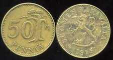 FINLANDE 50 pennia 1975